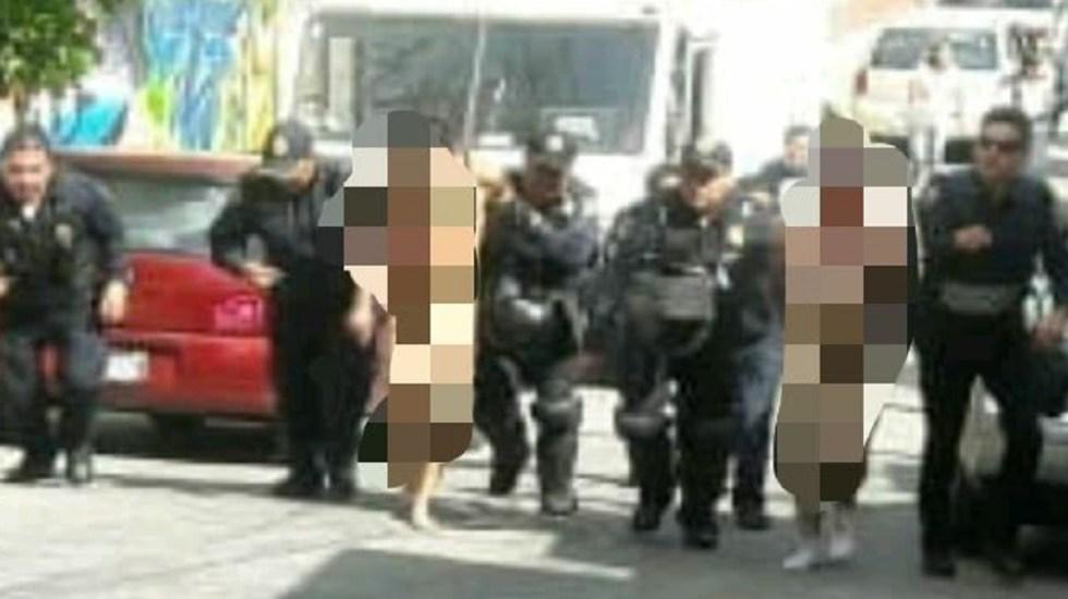 #Video Intentan linchar a dos por presunto robo en Álvaro Obregón