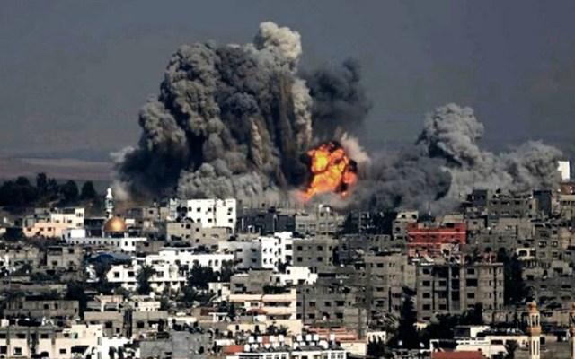 Israel bombardea objetivos de Hamás en Gaza - Foto de Internet