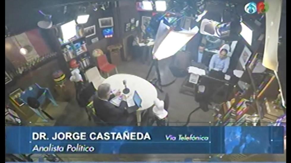 Reculada de Trump fue más mediática que sustantiva: Jorge Castañeda - Captura de Pantalla
