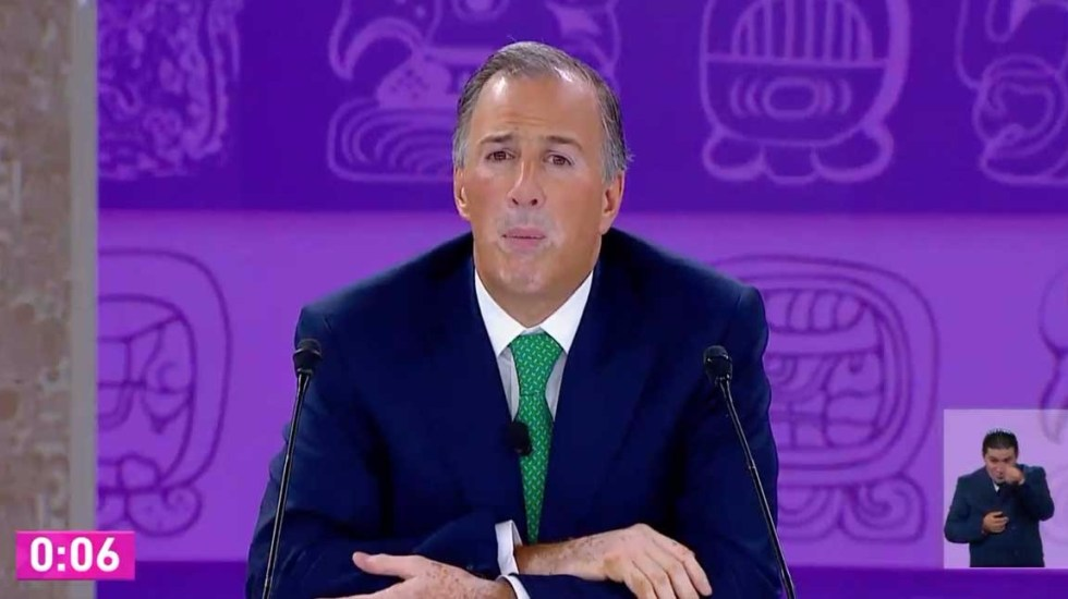 José Antonio Meade. Captura de Pantalla.