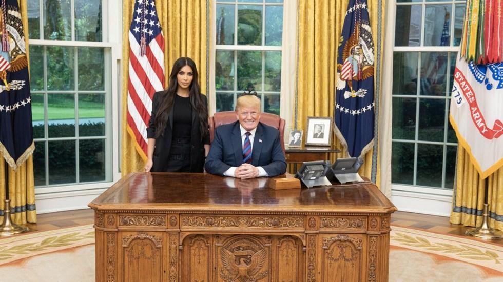 Trump conmuta sentencia a mujer que defendió Kim Kardashian - Foto de Twitter Donald Trump