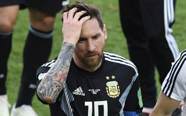 """Me siento responsable"": Messi - Foto de @TodaPasion"