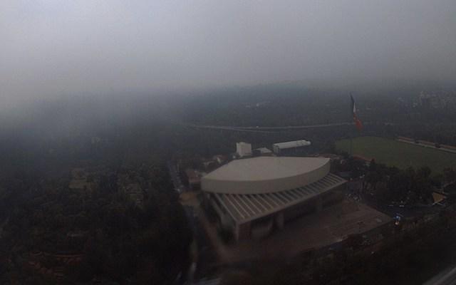 Activan alerta naranja por lluvias en la CDMX - Foto de @webcamsdemexico