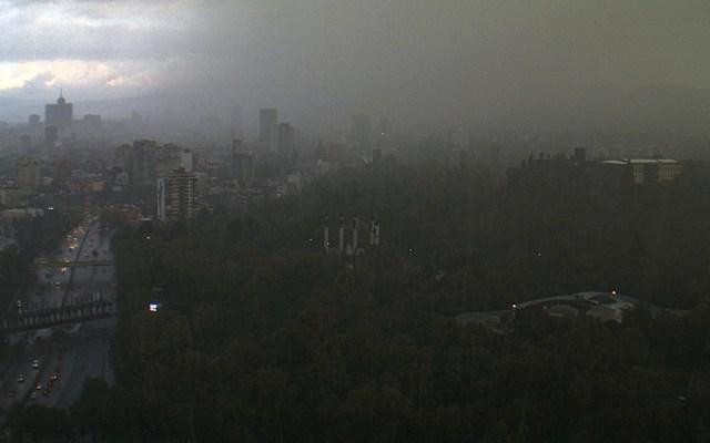 Alerta Amarilla en la Ciudad de México por lluvia - Foto de @webcamsdemexico