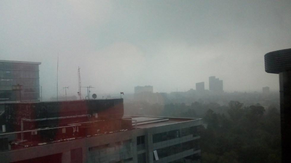 Alerta Amarilla por lluvia y viento en 11 delegaciones de la CDMX - Foto de @srodingercat