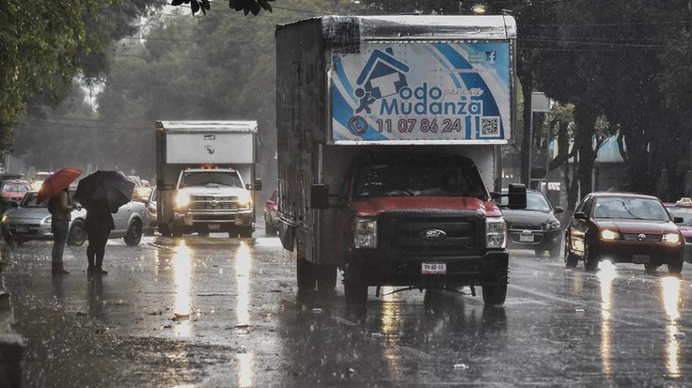 Alertan por lluvia en nueve delegaciones - Foto de Quadratín