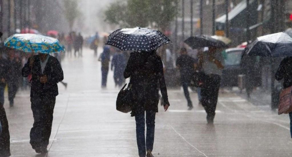 Prevén lluvias con tormentas eléctricas y granizo en todo el país - Foto de internet