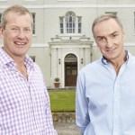 Lord Ivar Mountbatten (Izquierda) y James Coyle. Foto de Daily Mail