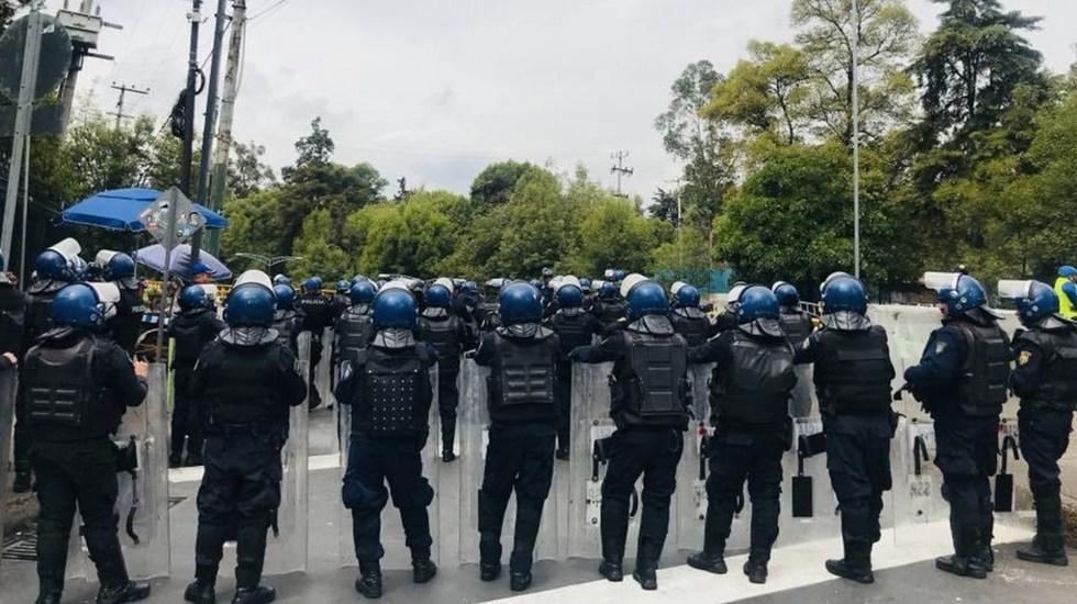 Manifestantes afectan circulación en Chivatito
