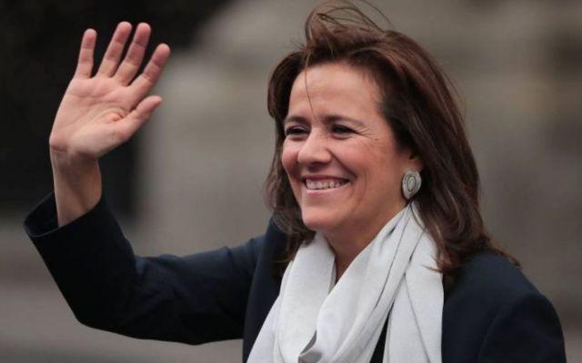 Margarita Zavala felicita a López Obrador tras salida del PREP - Foto de internet