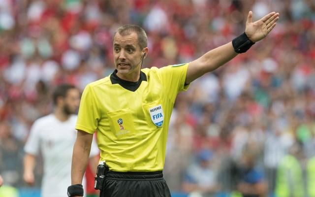 Jugador marroquí denuncia que árbitro pidió camisa de Ronaldo - Foto de Mexsport