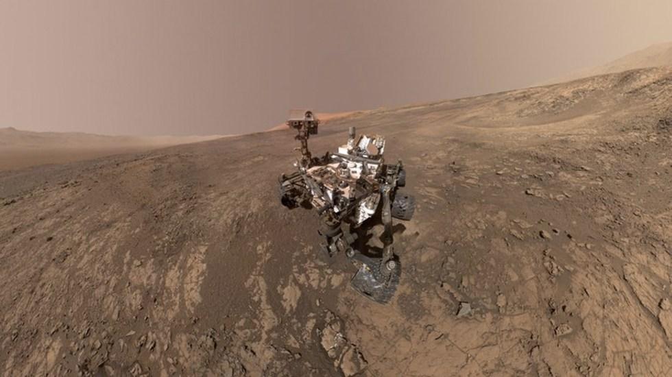 Curiosity encuentra evidencia de posibilidad de vida en Marte - Foto de Curiosity