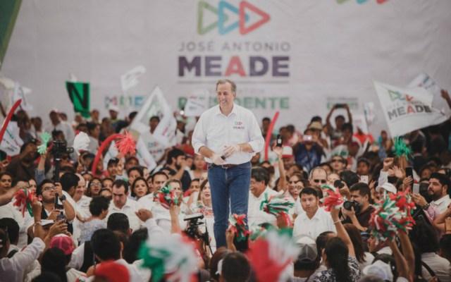 Meade pide a mexicanos voto consciente - Foto de José Antonio Meade