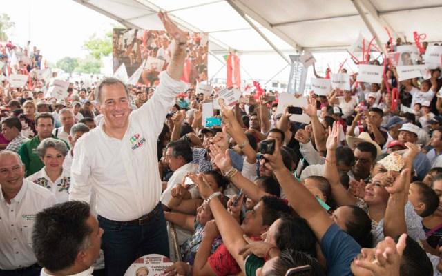 Pide Meade a ciudadanos reflexionar el voto rumbo al 1 de julio - Foto de José Antonio Meade