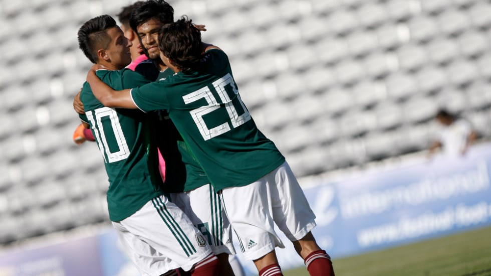 México remonta a China en Torneo Esperanzas de Toulon 2018 - Foto de Festival Foot Espoirs