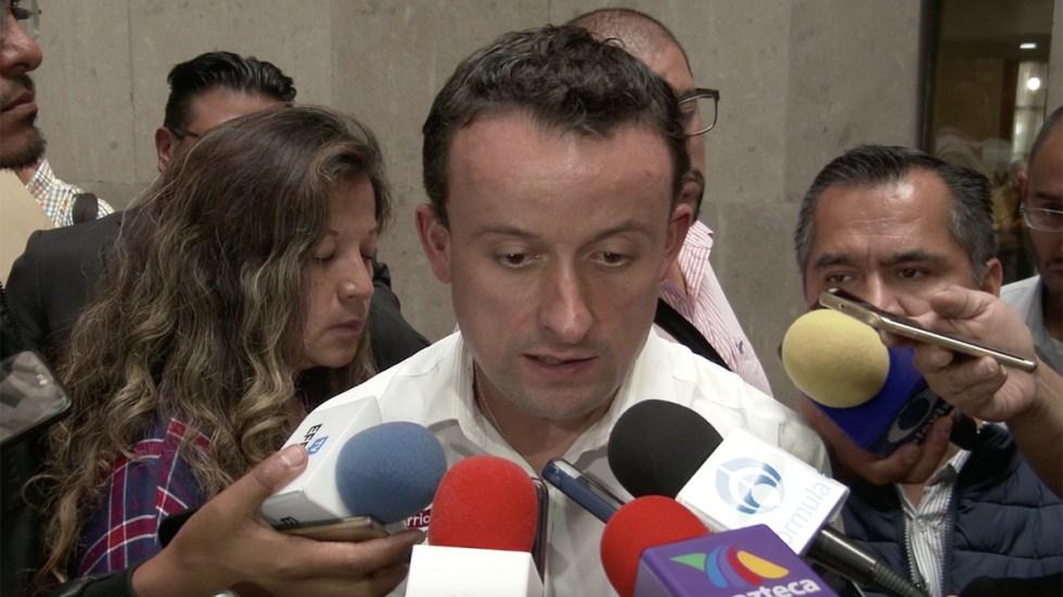 Mikel Arriola respalda propuesta de unión entre PRI y PAN