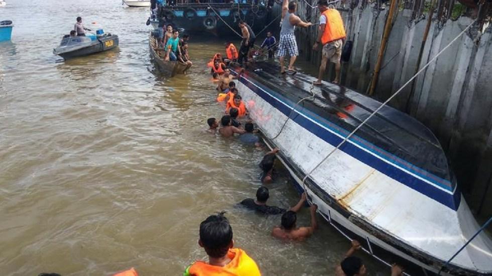 Naufragios dejan 15 muertos en Indonesia - Foto de Notimex