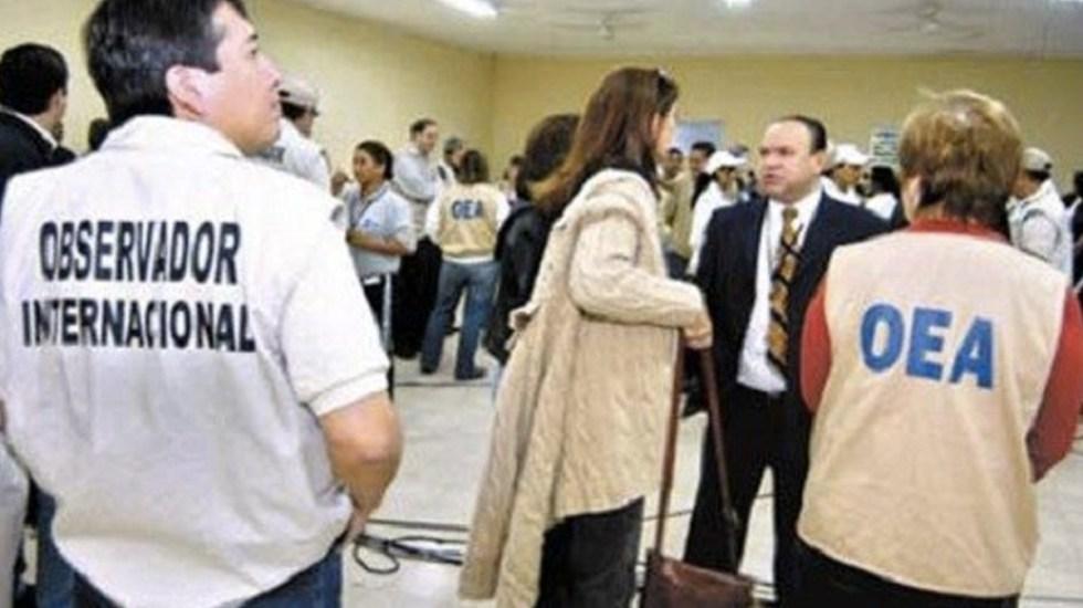 Más de 60 observadores de la OEA vigilarán elecciones en México - Foto de Internet
