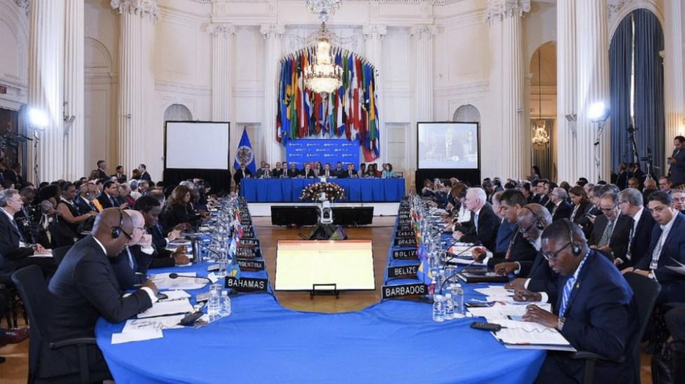 Aprueba OEA resolución que podría llevar a suspensión de Venezuela - Foto de @OEA