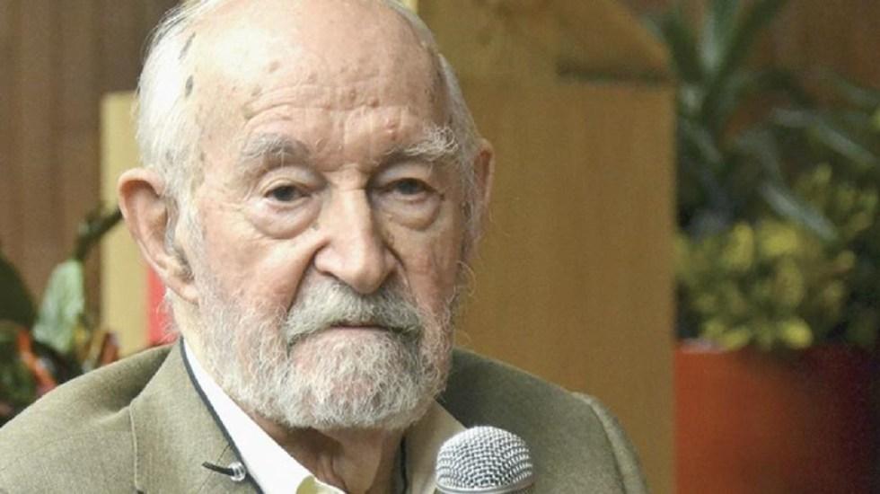 Muere el ingeniero que estructuró el Auditorio Nacional Óscar de Buen - Foto de internet