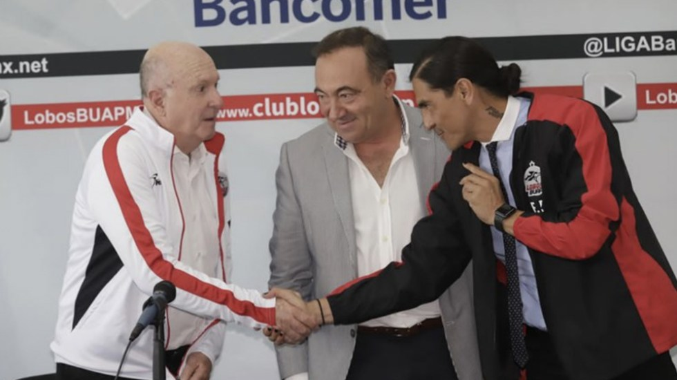 Lobos BUAP contrata a Palencia como DT y a Lapuente como directivo - palencia lapuente