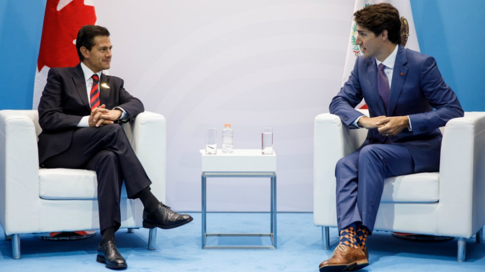 EPN y Trudeau hablan sobre medidas ante aranceles de EE.UU. - Foto de Justin Trudeau
