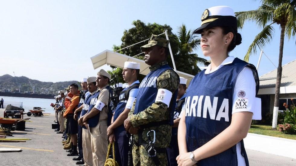 Activan Plan Marina para prevención en el Pacífico por Bud - Foto de Secretaría de Marina