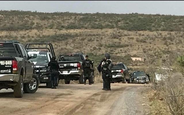 Policías abaten a siete presuntos criminales del CJNG en Jalisco - Foto especial