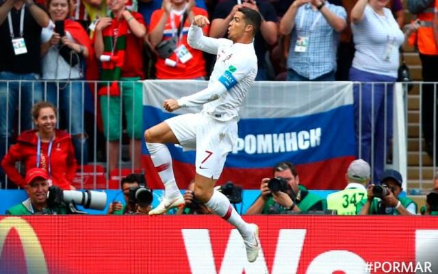 Cristiano Ronaldo le da triunfo a Portugal - Foto de @FIFAWorldCup