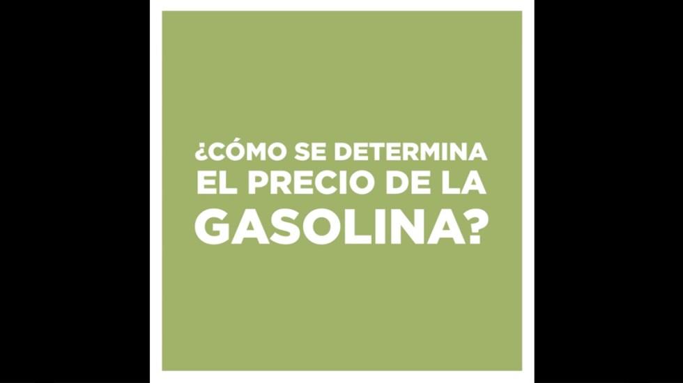 ¿Cómo se determina el precio de la gasolina? - Captura de Pantalla