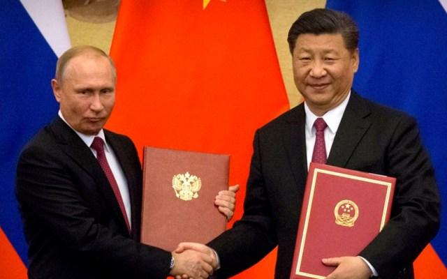 Putin regala sauna a Xi Jinping - Foto de AP