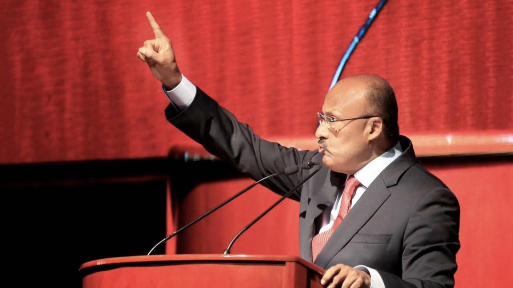Quien traicionó la confianza ciudadana debe pagar: René Juárez - Foto de Twitter