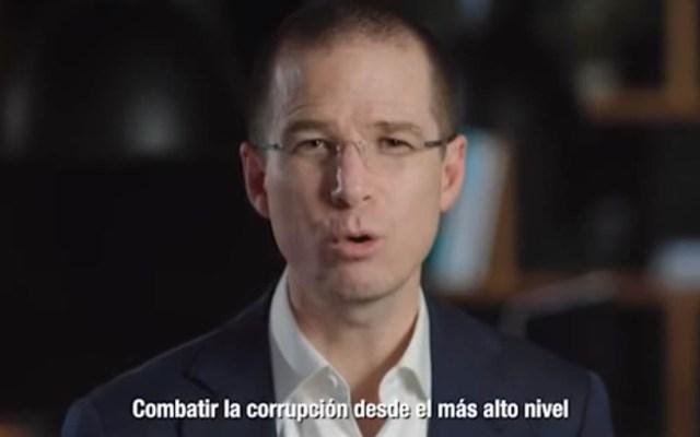 #Video Ricardo Anaya propone Fiscalía para investigar a Peña Nieto - Foto Captura de Pantalla