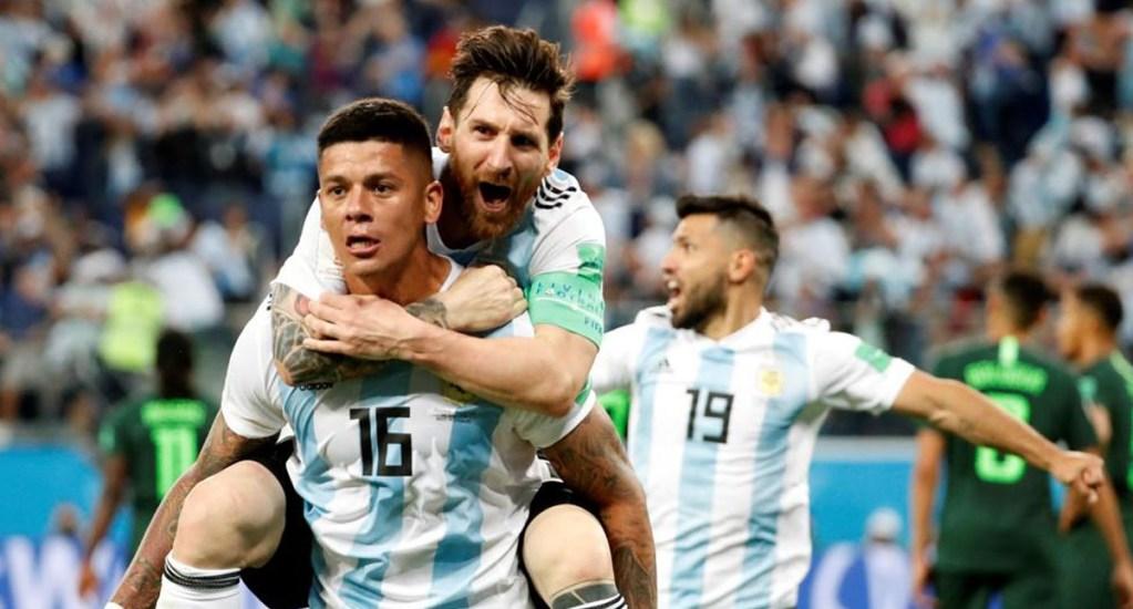 Sabía que iba a meter un gol contra Nigeria: Marcos Rojo