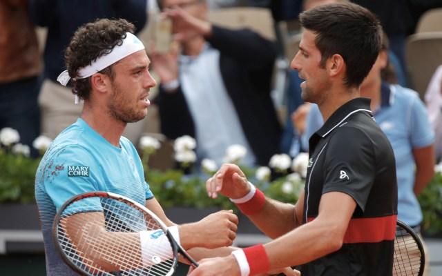 Novak Djokovic eliminado de Roland Garros - Foto de EFE