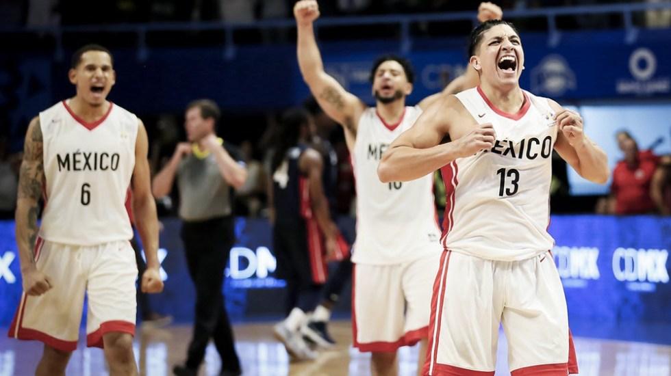 México logra victoria histórica contra EE.UU. en baloncesto - Foto de @COM_Mexico