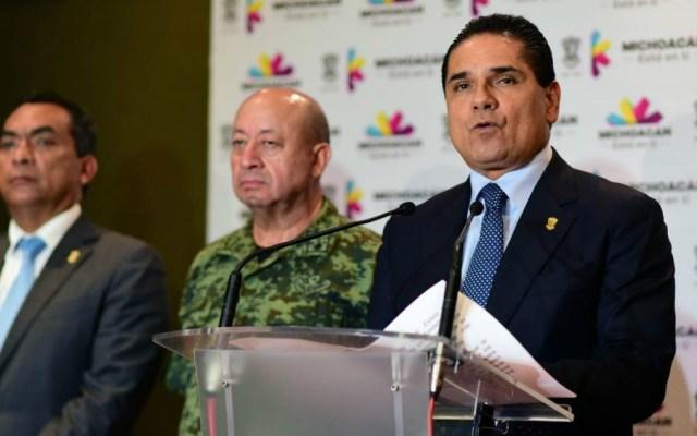 CJNG y Los Viagras disputan control de Buenavista: Silvano Aureoles - Foto de Notimex archivo