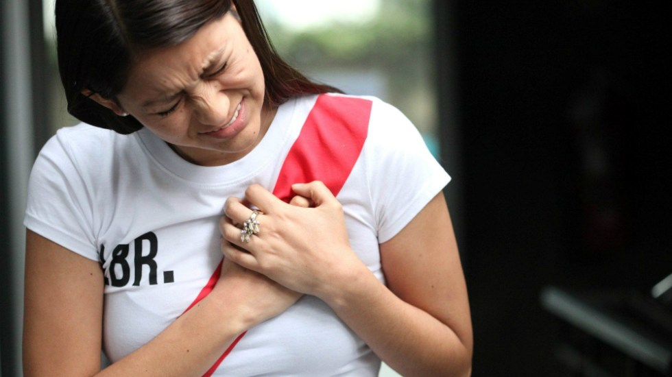 """Estrés """"rompe"""" el corazón de las mujeres: especialistas - Foto de Andina"""