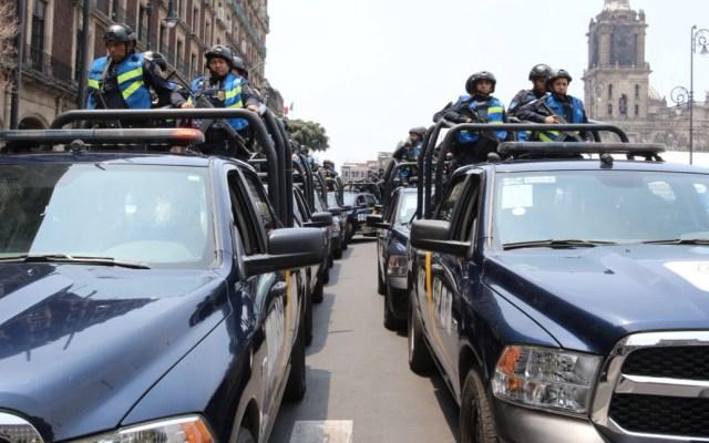 Buscan erradicar narcomenudeo en la Ciudad de México con media policía - Foto de SSP CDMX