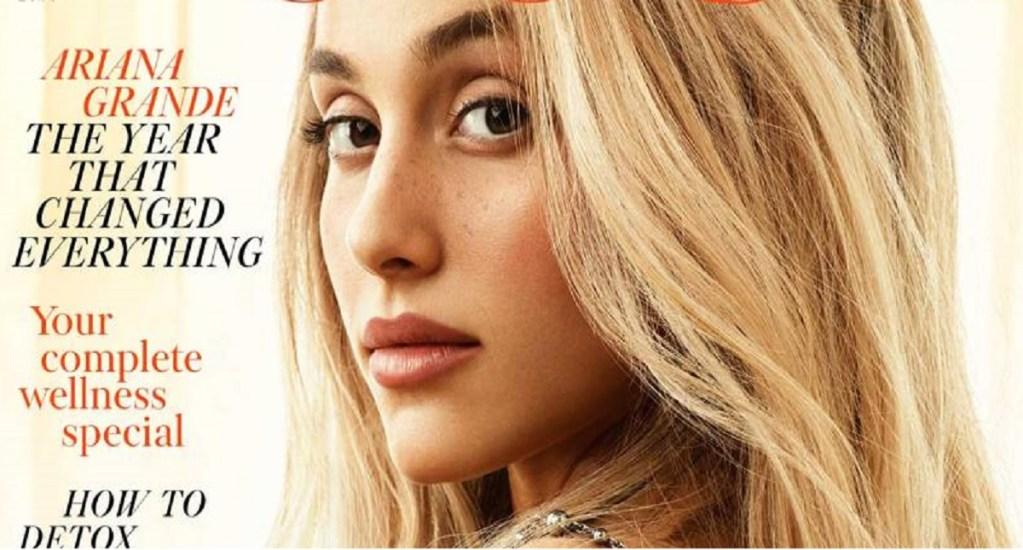 Ariana Grande confiesa sufrir estrés postraumático - Foto de Vogue Magazine
