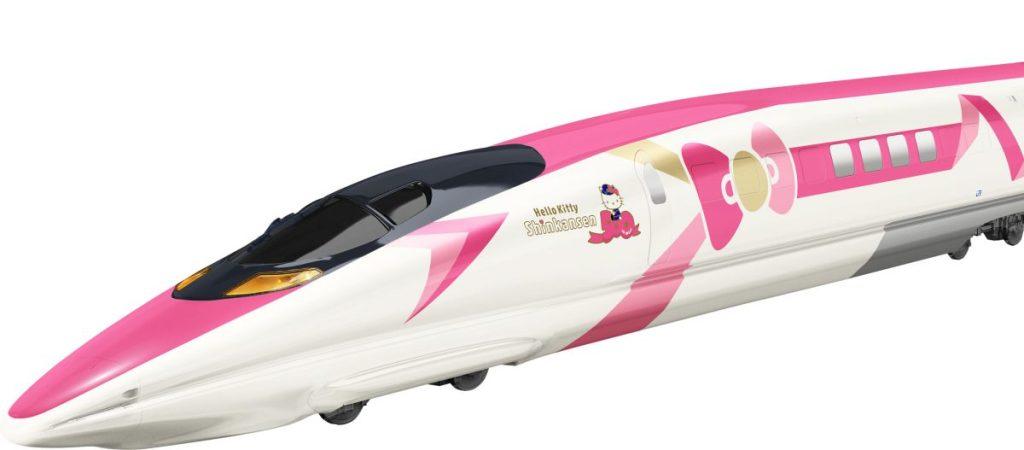 #VIDEO El próximo tren bala inspirado en Hello Kitty - Foto de Japan Railway West Co.