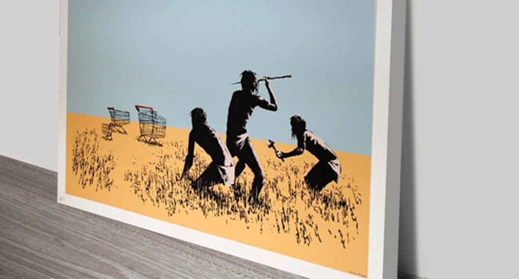 #Video Roban obra de Banksy en galería de Toronto - Foto especial