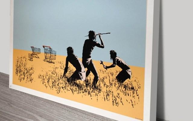 #Video Roban obra de Bansky en galería de Toronto - Foto especial