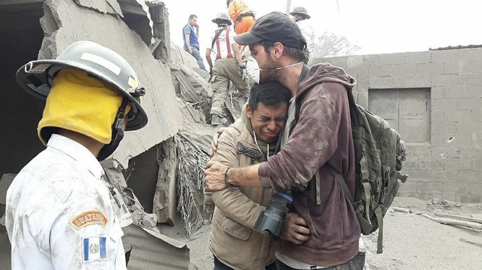 Suman 192 desaparecidos por erupción del volcán de Fuego - Foto de @luisangelsas