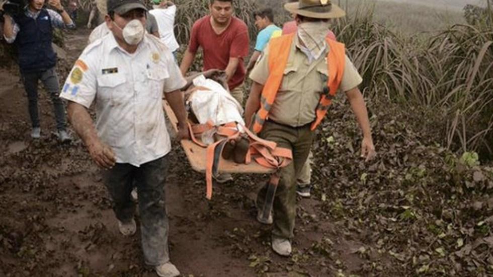 Aumenta a 38 el número de muertos por erupción en Guatemala - Foto de Reuters