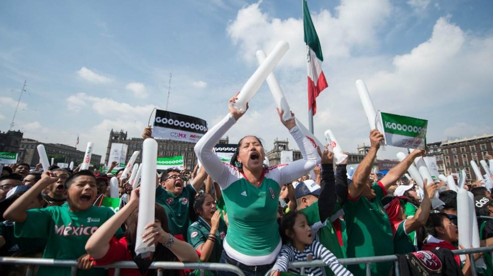 Vibra el Zócalo de la CDMX con el triunfo del Tricolor - Foto de Mexsport
