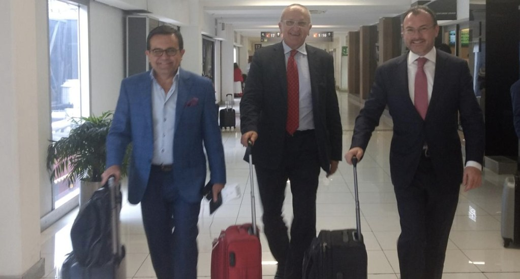 Videgaray asegura que contribuirá para mejorar relación Trump y AMLO - Foto de @LVidegaray