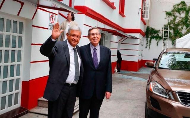 López Obrador se reúne con Cárdenas previo a encuentro con EPN - Foto de La Jornada