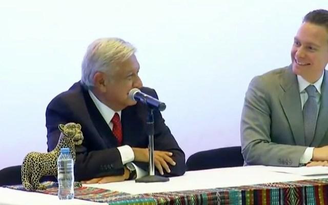 AMLO pide apoyo a gobernadores para descentralizar el Gobierno Federal - Captura de Pantalla
