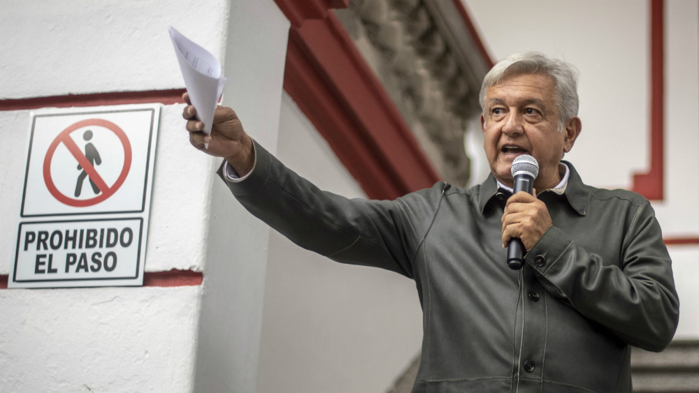 AMLO envía carta al EZLN - Foto de AFP